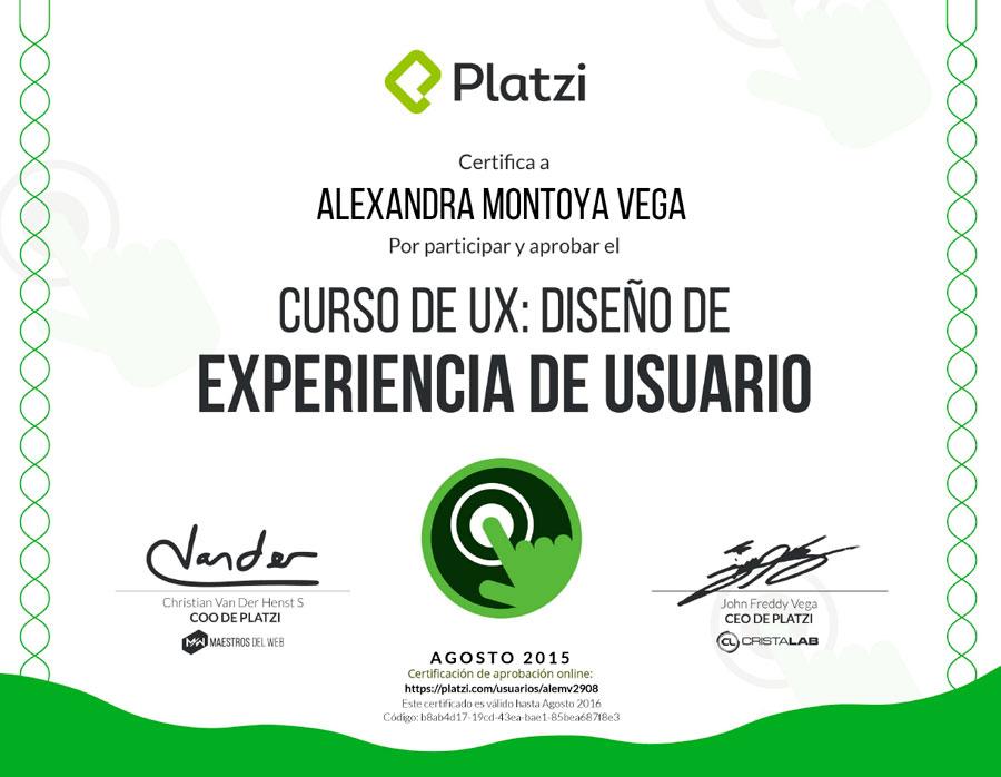 Curso de UX. Diseño de Experiencia de Usuario