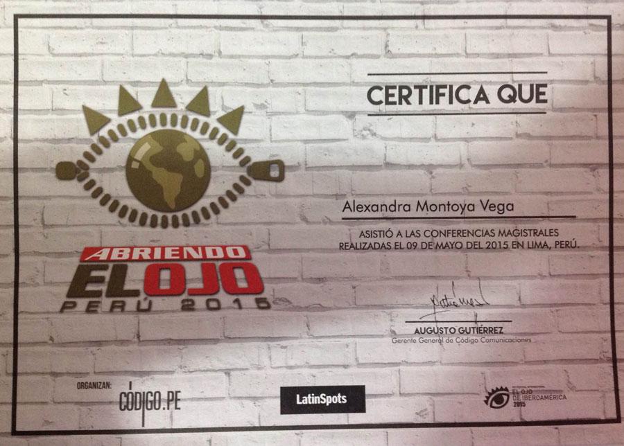 Conferencias Magistrales Abriendo el Ojo Perú 2015