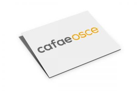 Logotipo Cafae OSCE by Jaque Market