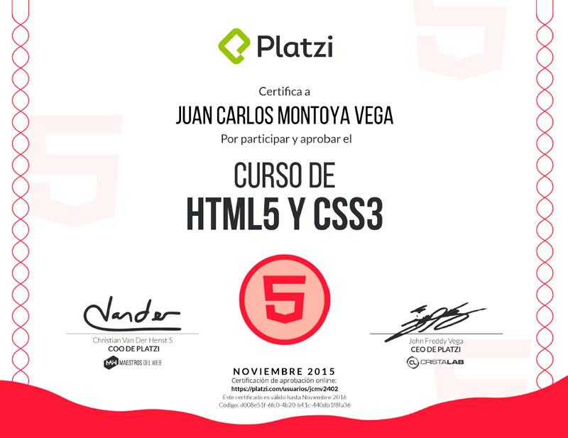 Curso HTML 5 y CSS3
