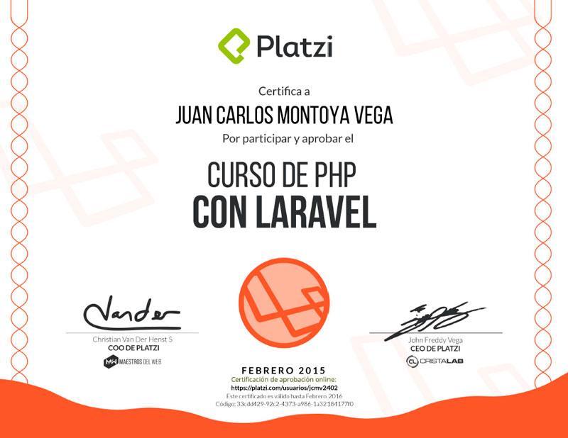 Curso PHP Laravel