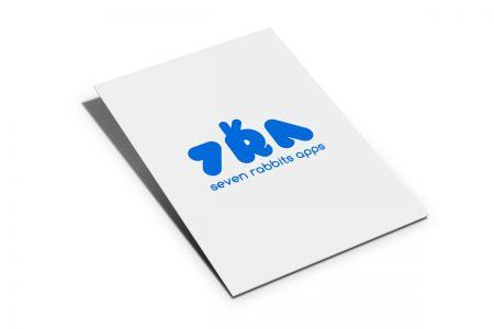 La marca (con-isotipo) 7 Rabbits Apps by Jaque Market