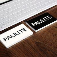 Logotipo Paulite by Jaque Market