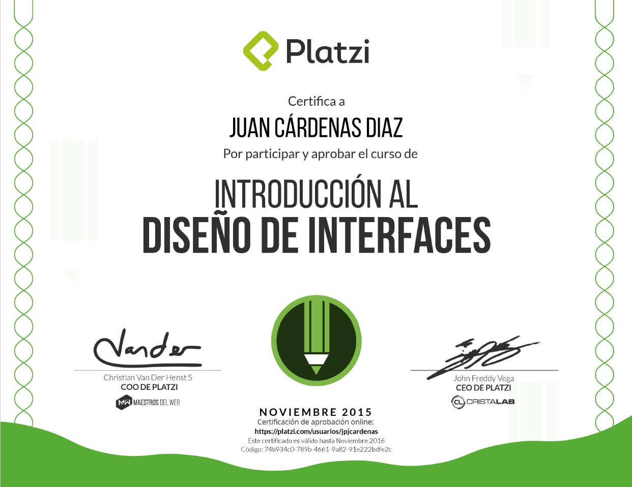Curso de Introduccion al Diseño de Interfaces