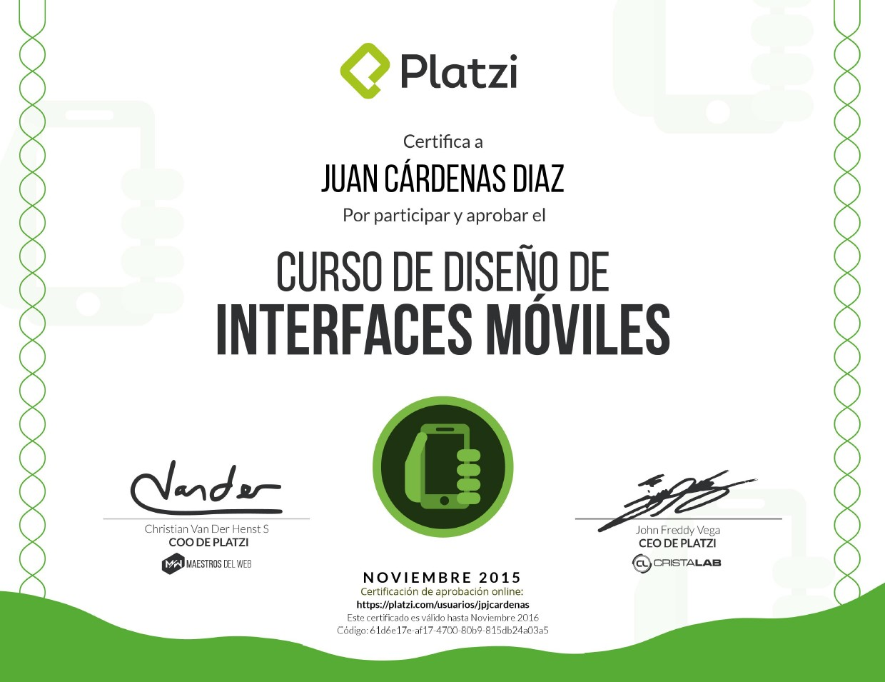 Curso de Diseño de Interfaces Móviles