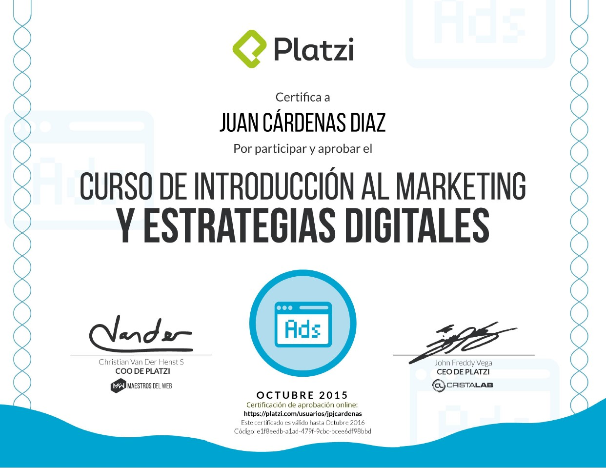 Curso de Introducción al Marketing y Estrategias Digitales