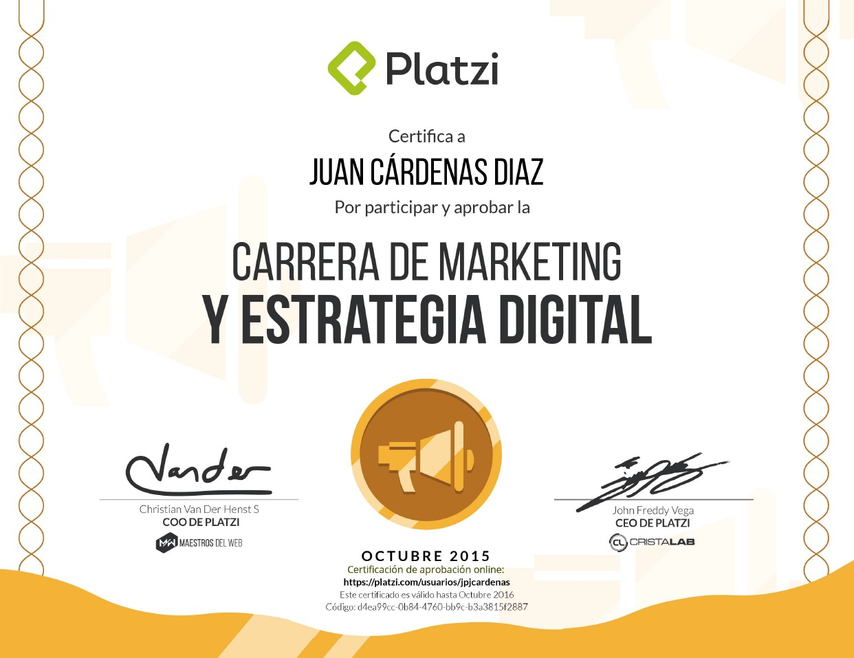 Carrera Marketing y Estrategia Digital