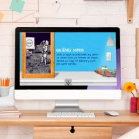 Sitio Web Corporativo Interactivo Quasar. Jaque Market